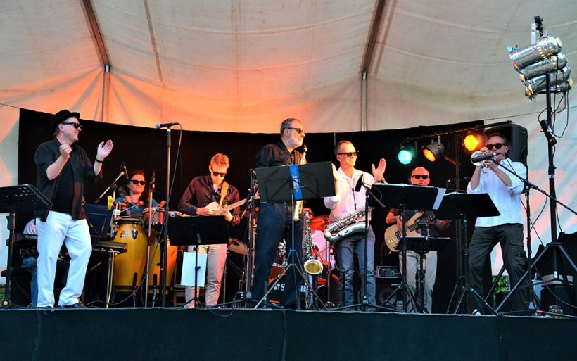 Konzert der Appl Juice Band 2017
